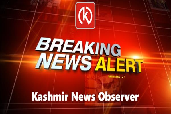 A Govt School polling booth set on fire at Yarigund area of Narbal in central kashmir | KNO