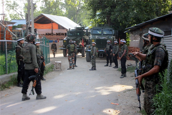 UPDATE : ENCOUNTER STARTED BETWEEN MILITANTS & FORCES AT AWNEERA SHOPIAN | KNO