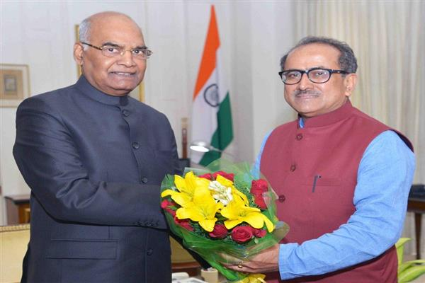 Dy CM calls on President | KNO