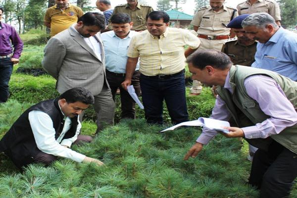 Mir Zahoor inspects work on Trout Rearing Unit Nowhar, reviews dev works in Budgam | KNO