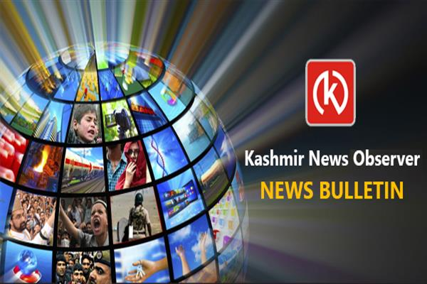 KNO - Kashmir News Observer Evening Bulletin | KNO