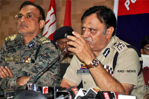 Posters asking non-locals to vacate Kashmir are fake : IGP | KNO
