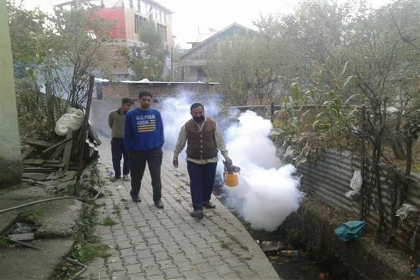 Municipal Committee intensifies thermal fogging drive in Bhaderwah | KNO