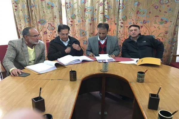 JKJCCI Held Executive Committee Members Meeting | KNO