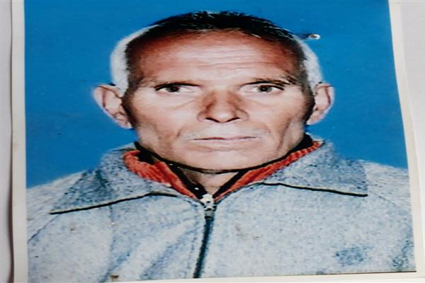 Police seeks help of general public to trace missing man of Zadibal | KNO