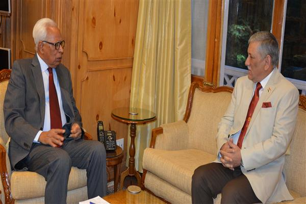 Chief of Army Staff meets Governor | KNO