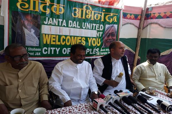 JDU to contest upcoming Parliament, Assembly elections in J&K | KNO