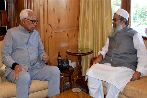 General Secretary Jamiat Ulema-i- Hind meets Governor | KNO