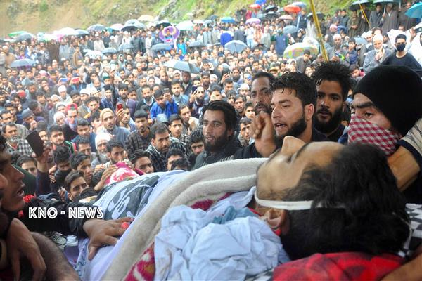 Sea of mourners attend teenage Faizan's multiple funerals | KNO