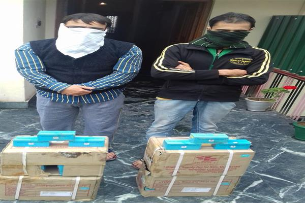 02 employees of JLNM Hospital Rainawari arrested for misappropriating Govt supply medicines | KNO