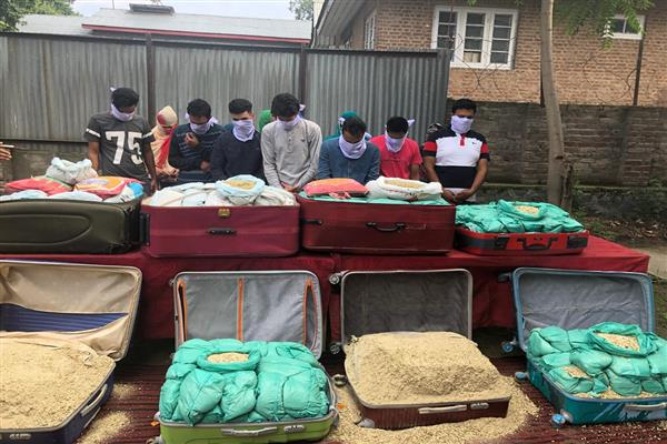 Budgam Police busts inter-state drug racket | KNO