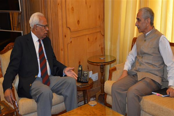 Dineshwar Sharma meets Governor | KNO