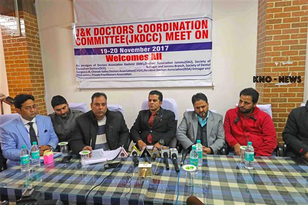 Fulfil the demands of residents doctors of GMC 'Srinagar/Jammu' | KNO