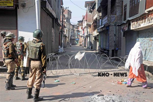 Curfew Culture mars Downtown Srinagar | KNO