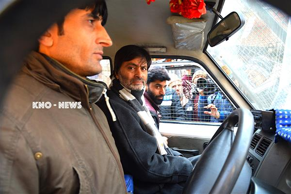 Yasin Malik continues to remain in police custody : JKLF | KNO