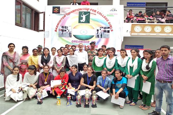 Bhaderwah Campus lifts Girls Badminton Championship | KNO