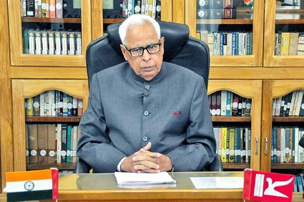 Governor reviews encroachments on State, Panchayat and Forest lands in the State | KNO