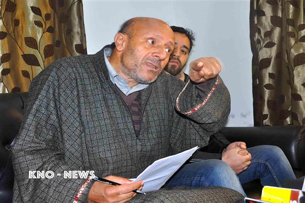 Both main stream and separatist camp need to answer harsh questions : Er Rasheed | KNO