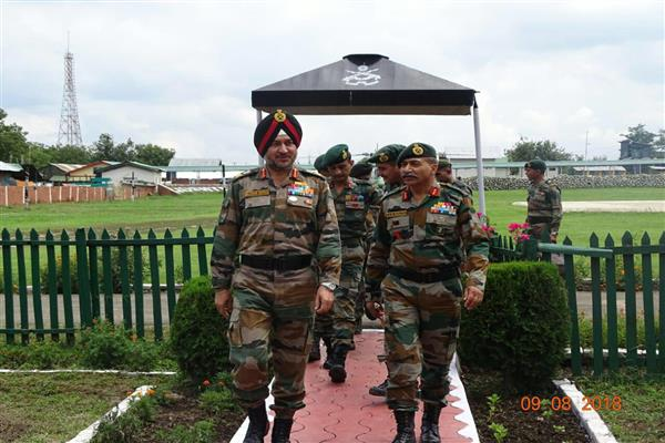 NORTHERN ARMY COMMANDER REVIEWS SECURITY IN VALLEY | KNO
