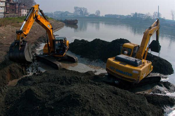Phase-I of Jhelum dredging to be completed by March 2019 | KNO
