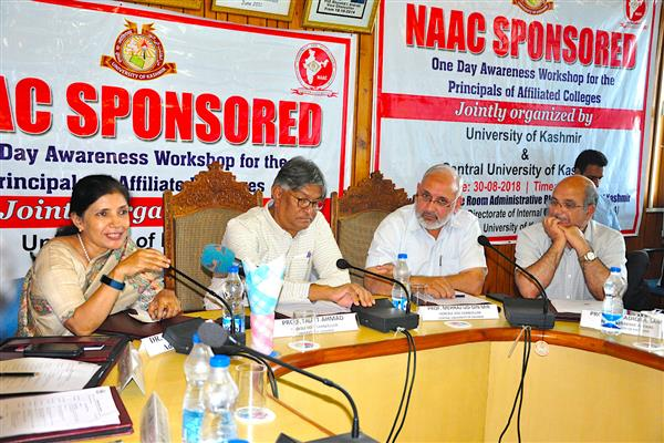 One-day NAAC sponsored awareness workshop held at KU | KNO