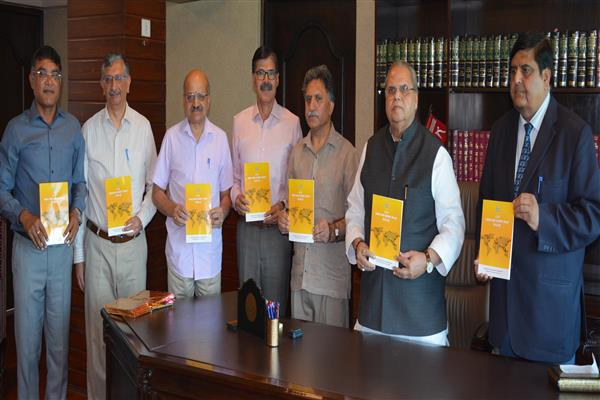 Governor releases 2 publications of Industries & Commerce Deptt | KNO