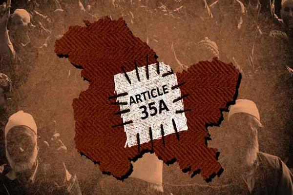 Article 35-A : Is storm in the offing? | KNO