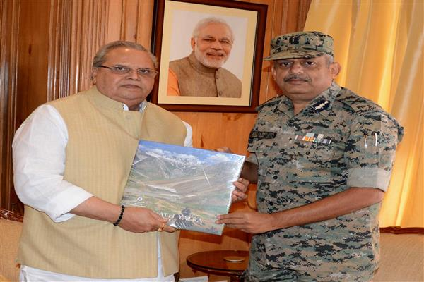 IG (Operations) CRPF meets Governor | KNO