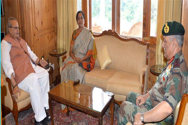 Defence Minister meets Governor | KNO