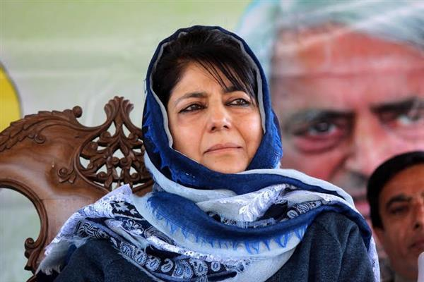 To resolve Kashmir, Modi has to become Vajpayee : Mehbooba Mufti | KNO