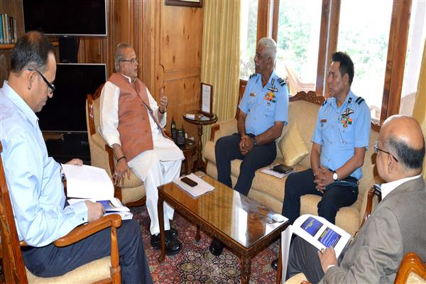 Air Marshal briefs Governor | KNO