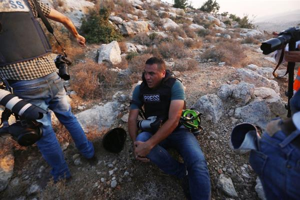 PALESTINE : IFJ condemns the Israeli army's attack against journalists on Tuesday, denounces the detention of Ali Dar Ali | KNO
