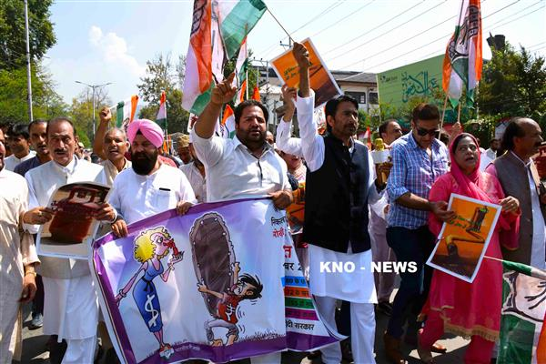 Congress holds massive protest against rising prices on Petroleum/Gas products | KNO