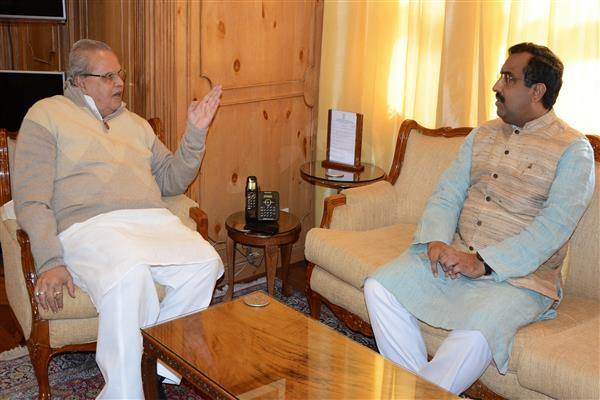 Ram Madhav meets Governor | KNO