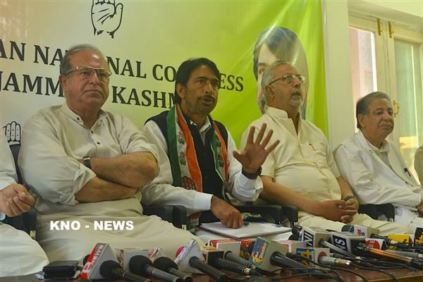 Situation not conducive for election in Kashmir : Congress | KNO