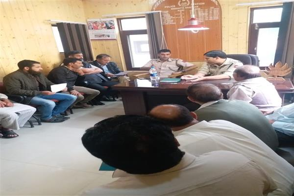 PCPG meeting organized by Police Station Nowhatta | KNO