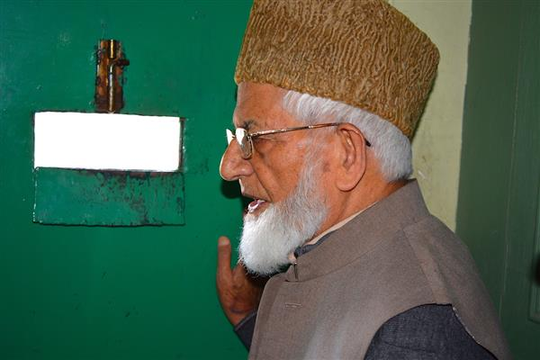 Governor's remarks vindicates our stand : Geelani | KNO