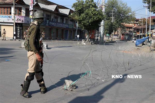 Kashmir shuts as ULB election commences in JK | KNO