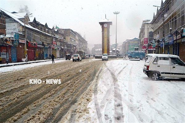 MeT predicts snowfall in higher reaches, rainfall in plains in Kashmir | KNO