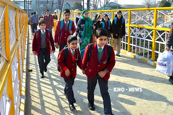 Srinagar Administration ordered to close all education institutions in district Srinagar | KNO