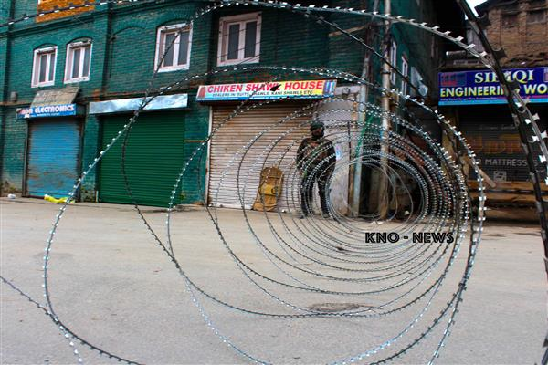 Restrictions will be imposed in Srinagar areas on Tuesday | KNO