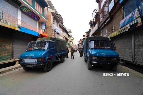 Restrictions will be imposed in Srinagar areas on Friday | KNO