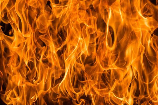 Unknown person set ablaze Panchayat Ghar in Nowpora | KNO