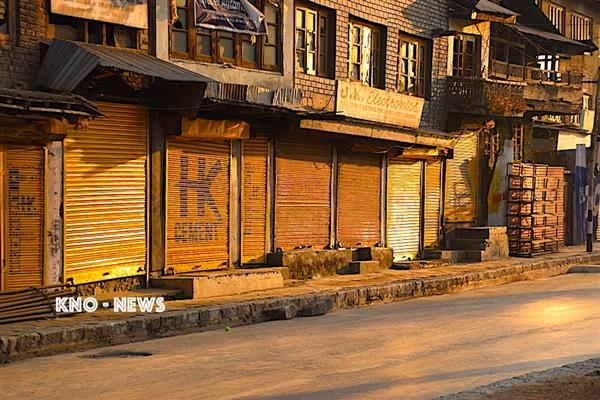 Sopore shuts to mourn militant killings | KNO