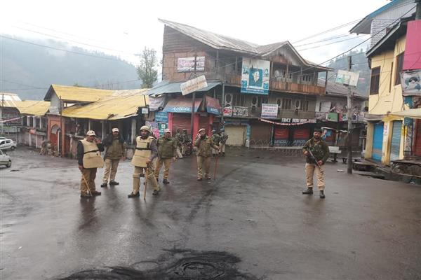 Curfew relaxed for brief period in Bhaderwah but internet remains suspended | KNO