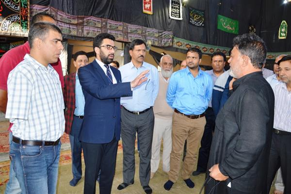 DC Srinagar reviews Eid-e-Milad arrangements | KNO