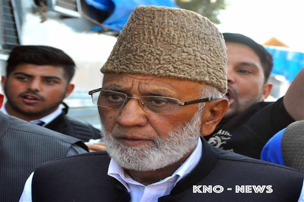 Sehrai terms Farooq Abdullah's statement as 'absurd' | KNO