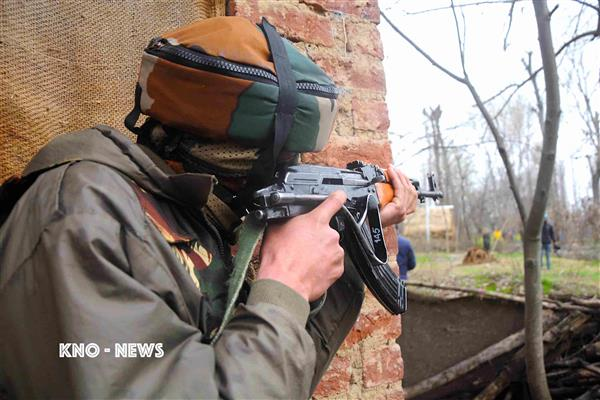 Militant Killed after Brief exchange of gunfire in Handwara | KNO