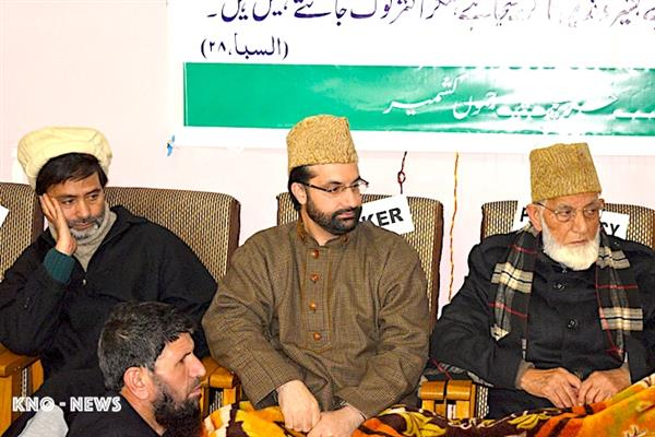 JRL condemns charge-sheet on Asiya, her aides, PSA on Aalam | KNO