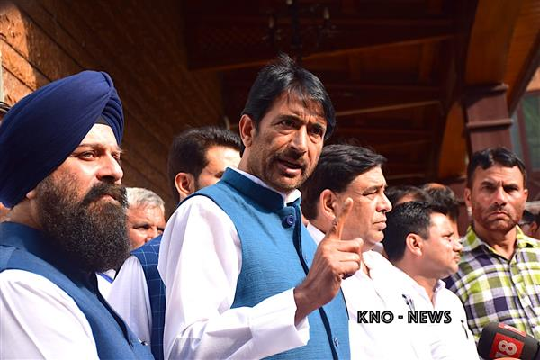 G A Mir grieved over death of Congress leader Haji Gh. Rasool Mir | KNO